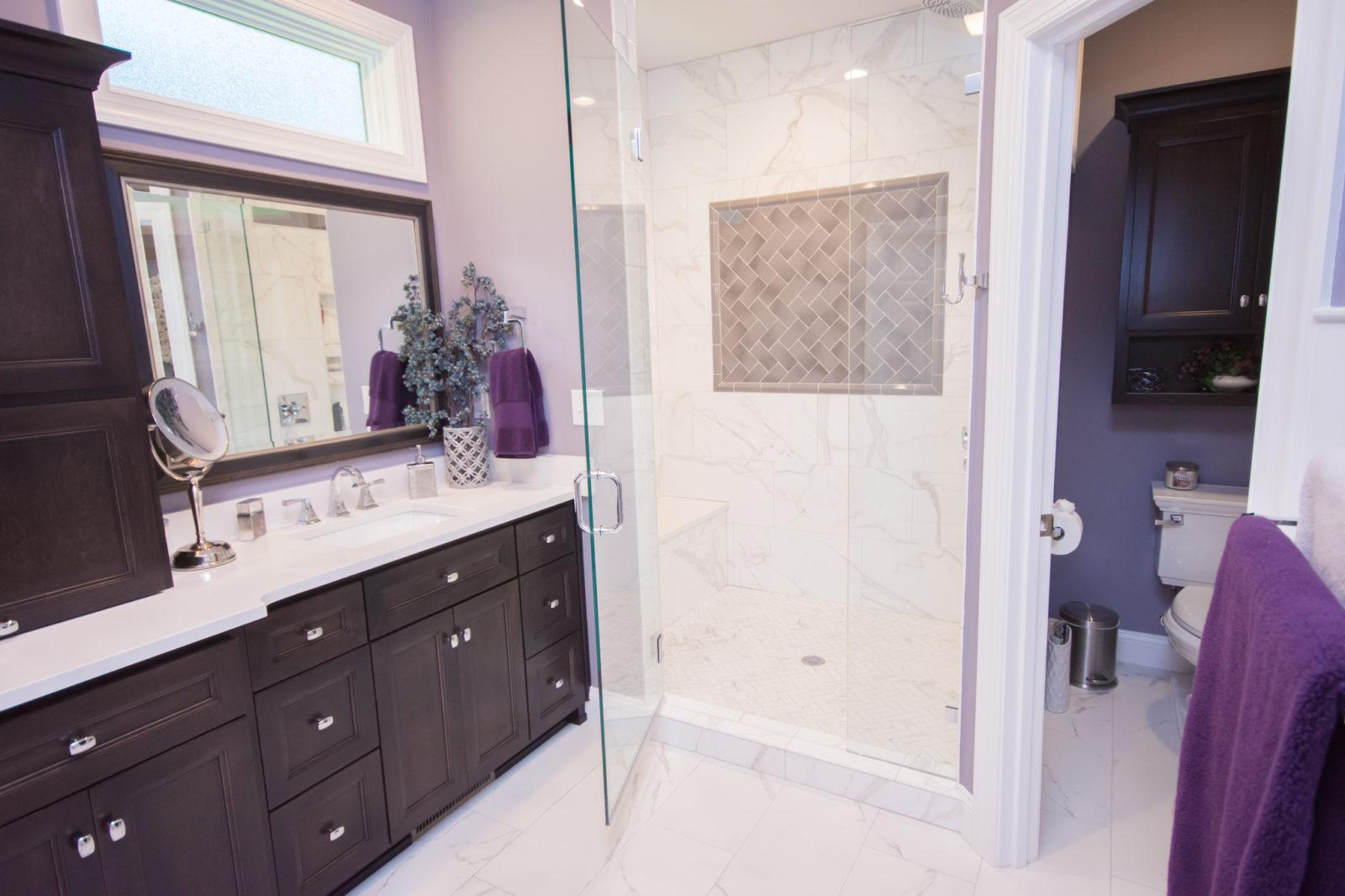 Waxhaw, NC home, glass shower