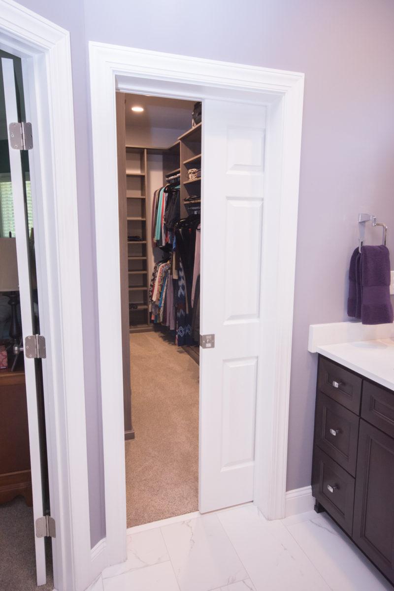 Waxhaw, NC home, walk-in closet