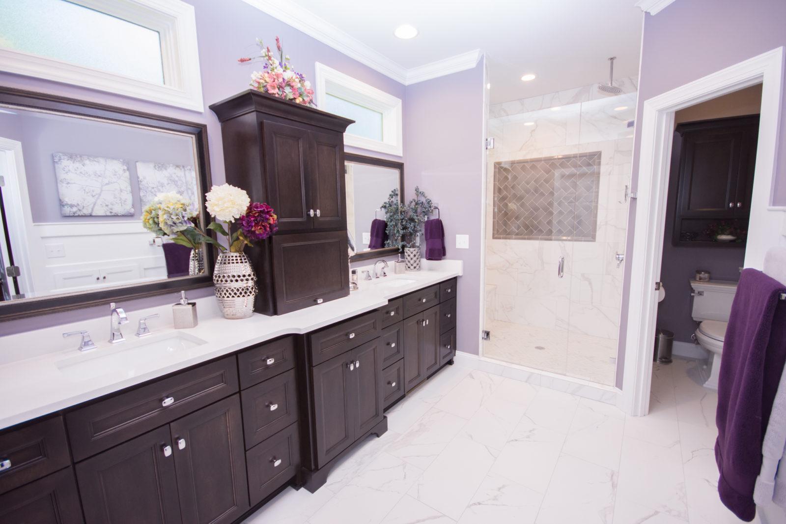 Waxhaw, NC home, bathroom remodel