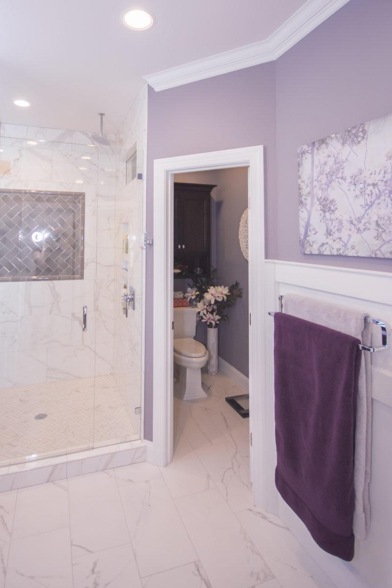 Waxhaw, NC home, bathroom and toilet