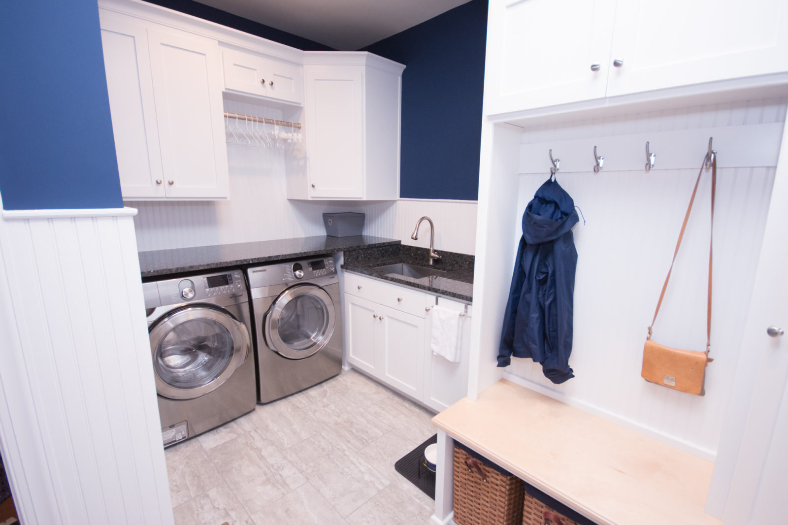 laundry remodel