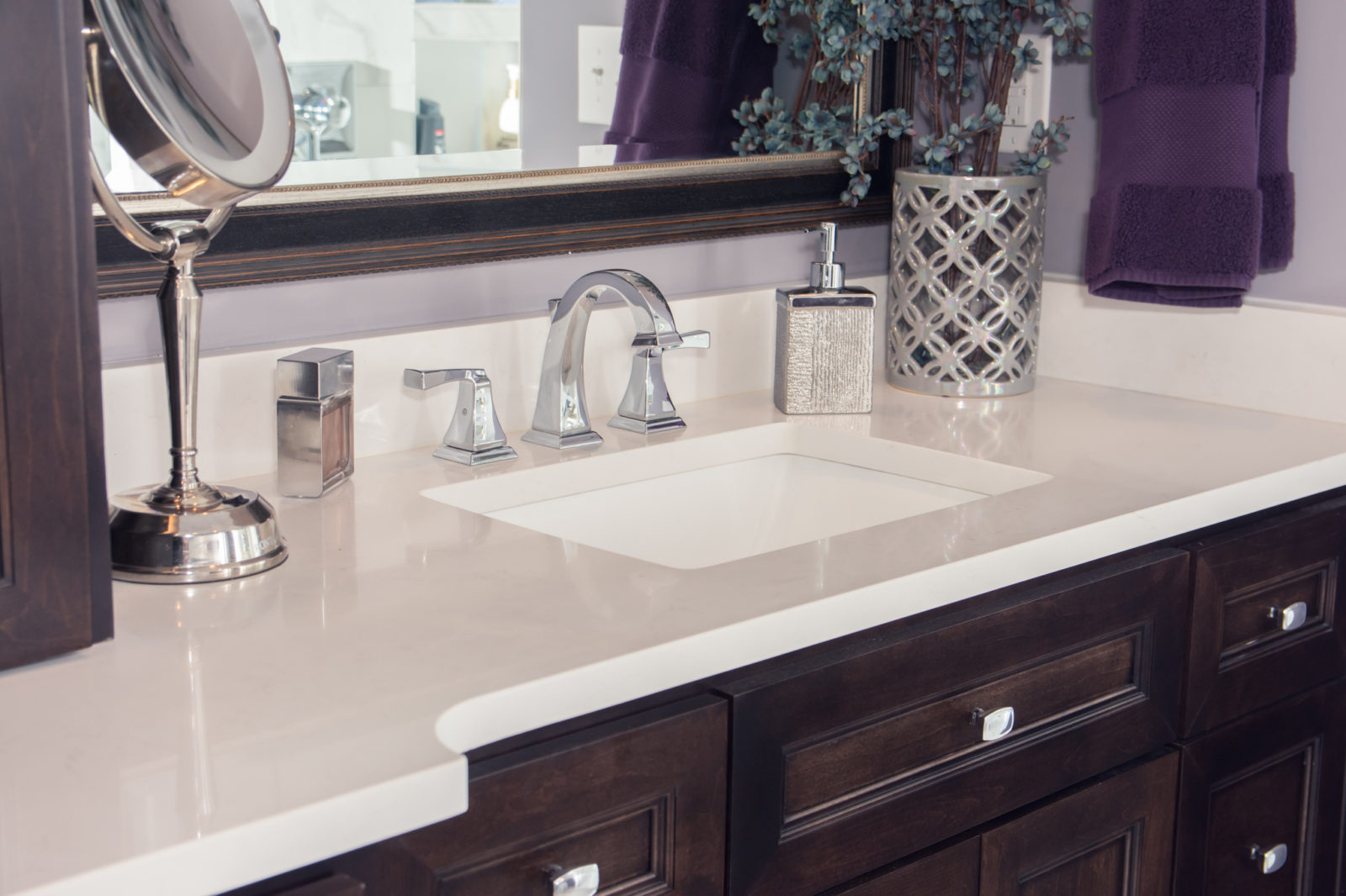 Waxhaw, NC home, bathroom with sink
