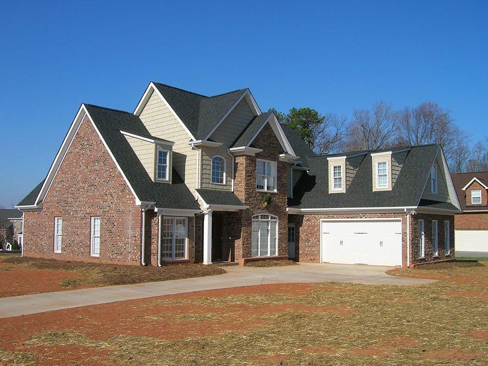 Mint Hill, NC home, brick, outdoor