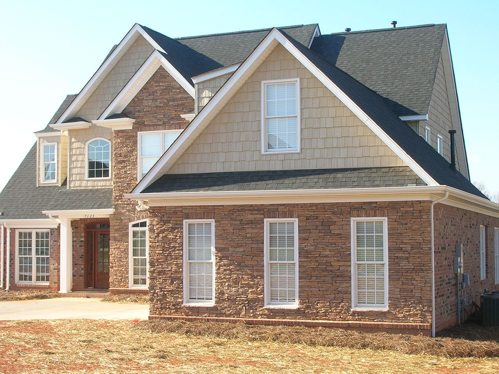 Mint Hill, NC home, brick, outdoor, 2 story