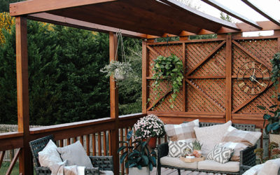 Patio makeover ideas