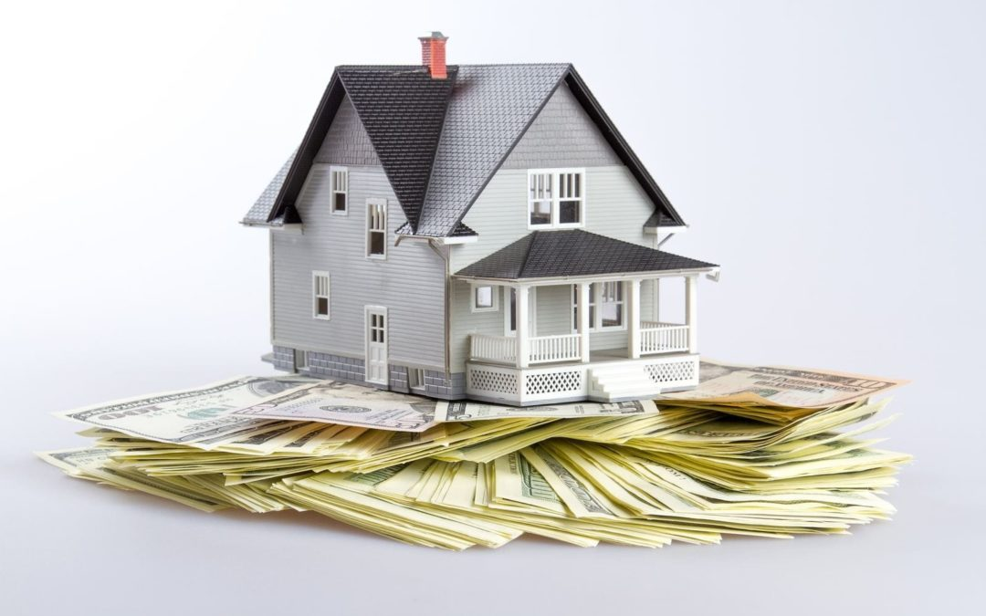 home equity home sitting on money
