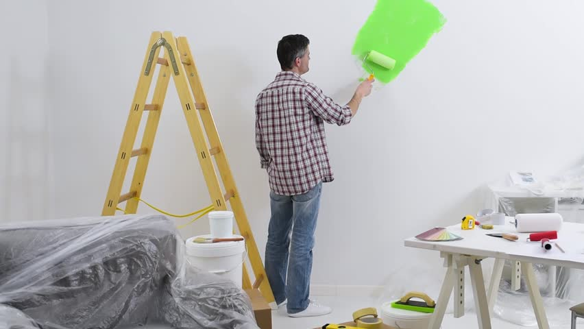 home improvement by painting