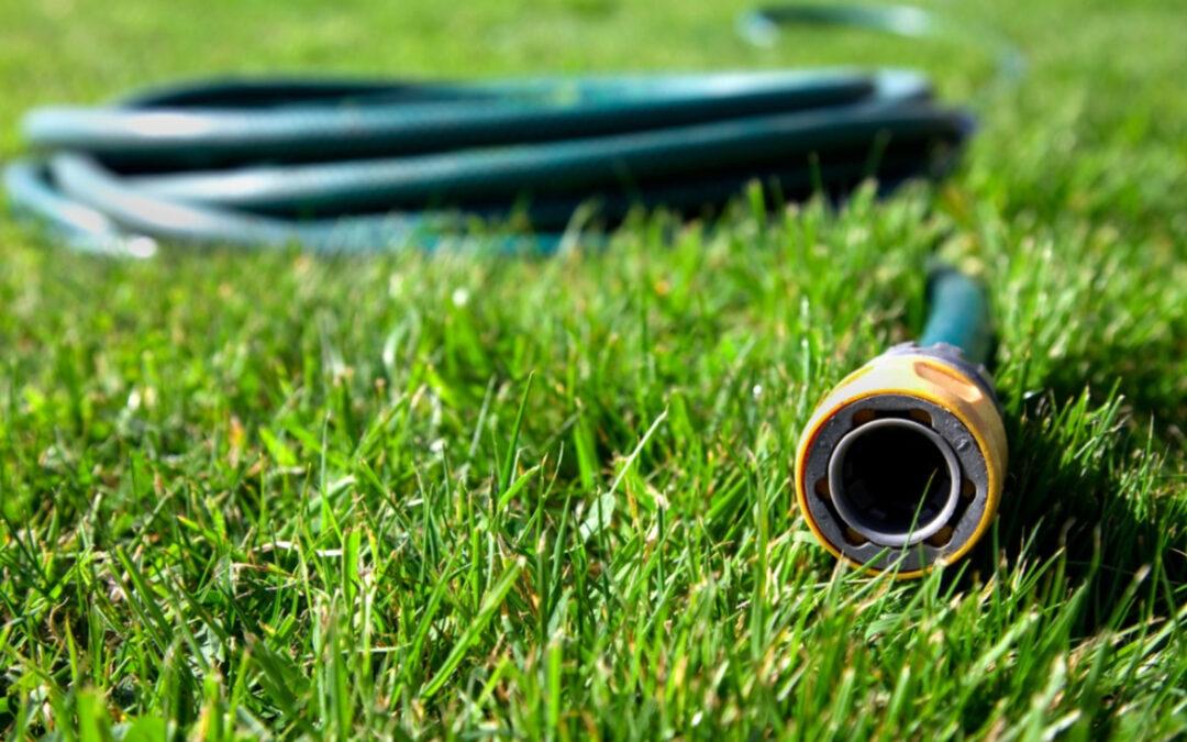 drain garden hose